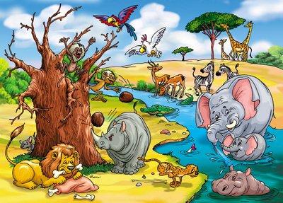 звери в Африке