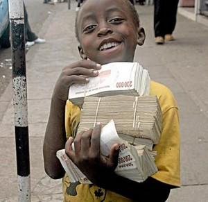 Гіперінфляція у Зімбабве