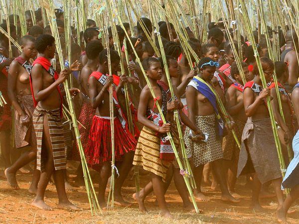 Выбор невест в Свазиленде