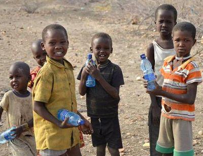 Сироты в Африке