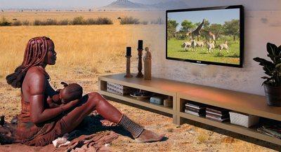 телевидение в Африке