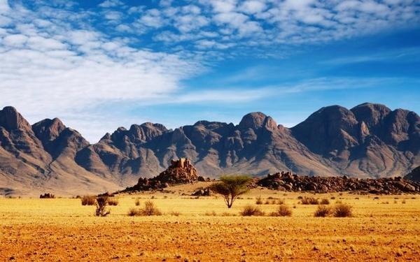 горы в Намибии