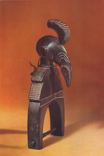 африканська скульптура