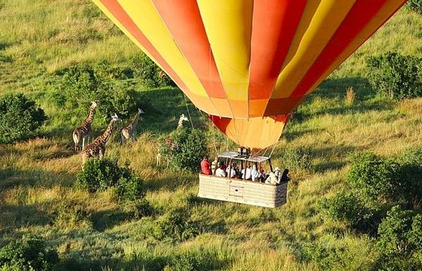 Кения с воздушного шара