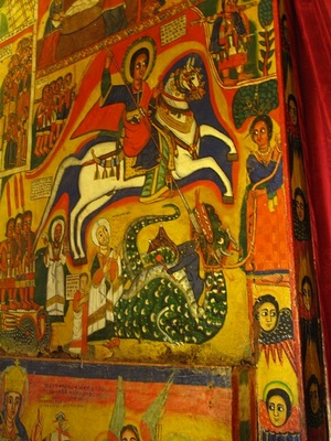 Розписи в монастирях Ефіопії