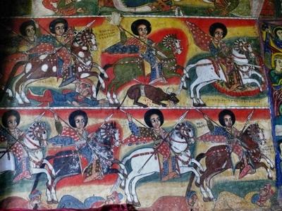Росписи в монастырях Эфиопии