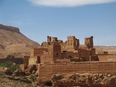 Замок в Марокко