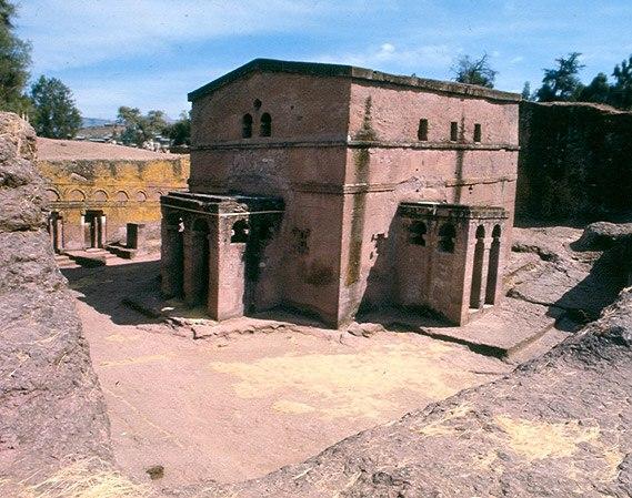 Скальная церковь в Лалибэле
