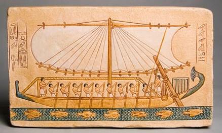 давньоєгипетський корабель