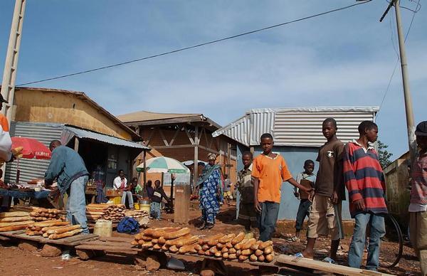 Рынок в Конакри