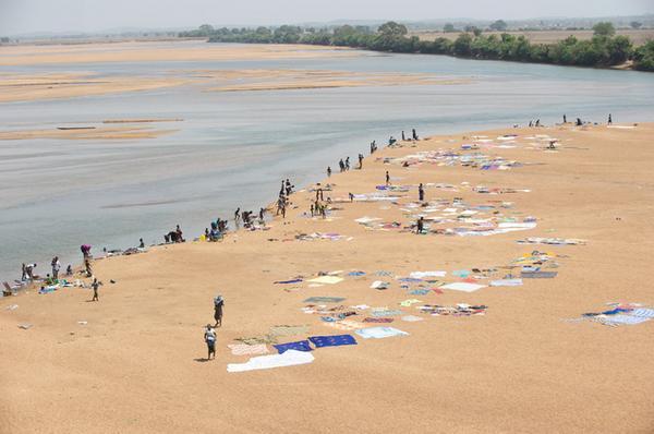 река Нигер в Мали