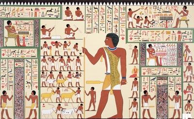курьер в древнем Египте