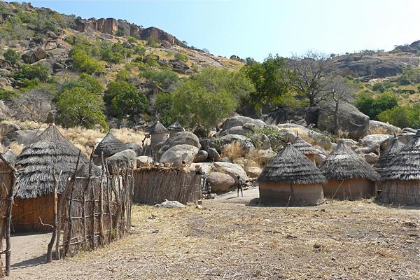 деревня в Судане